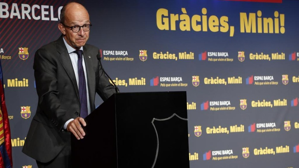 Ông Jordi Cardoner - Phó chủ tịch CLB Barca