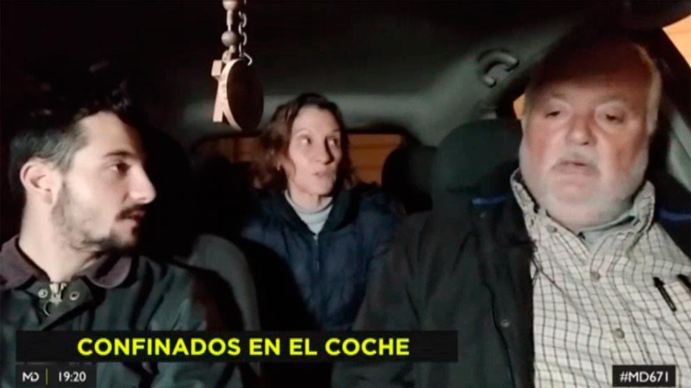 Imagen del reportaje de Telemadrid sobre la familia que vive la...