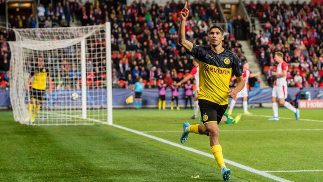 Achraf Hakimi seguirá en las filas del Madrid por tres años más.