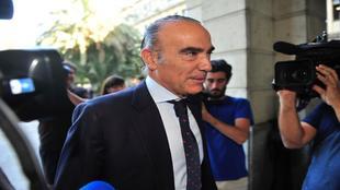 Luis Oliver, responsable de laparcela deportiva del Extremadura
