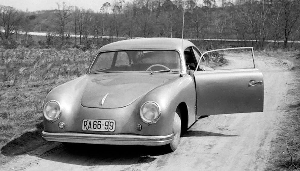 La imagen del Lindner Porsche era muy similar a la del 356 original.