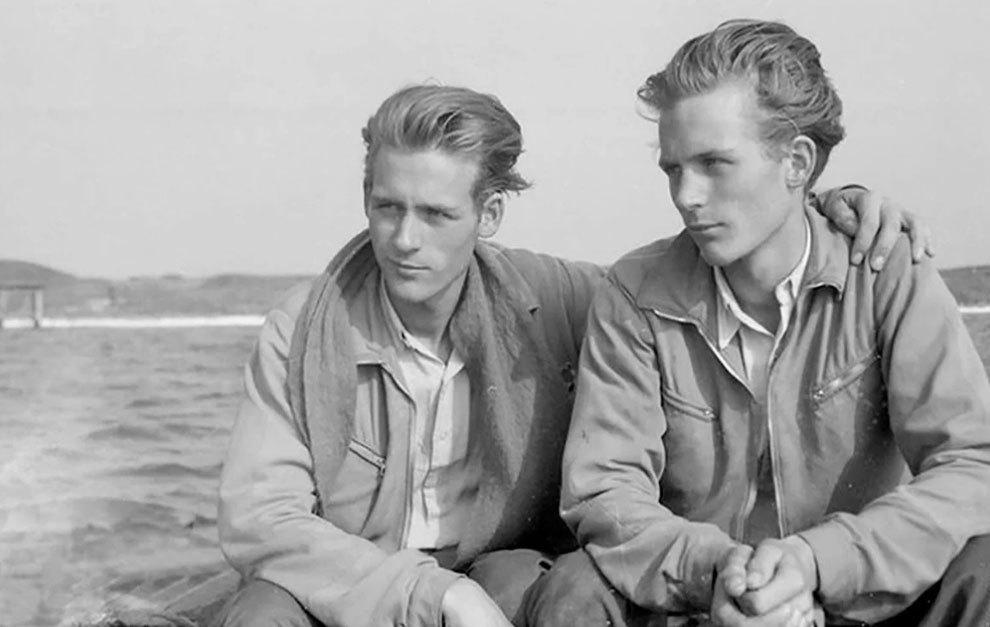 Los hermanos Reimann consiguieron hacer realidad su sueño de tener un Porsche, aunque no fuera original.