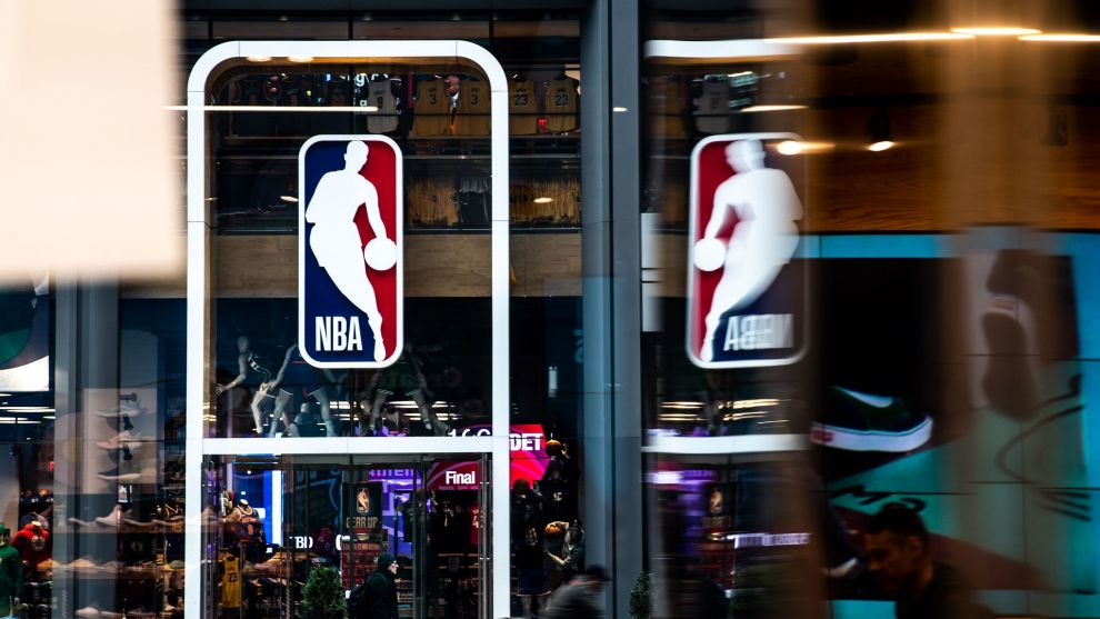 Una de las tiendas de la NBA en Nueva York.
