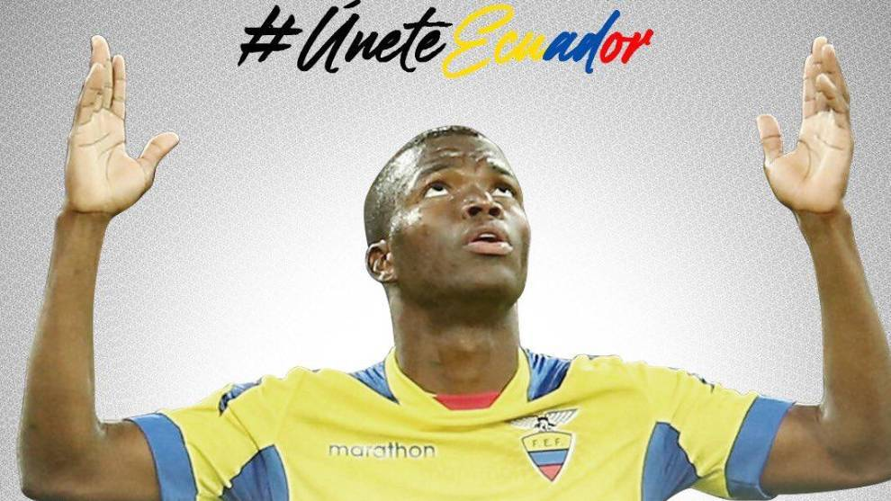 Enner Valencia, delantero de Ecuador y de Tigres.