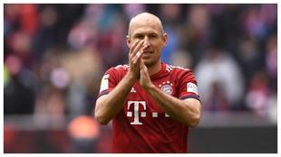 Robben, con el Bayern.
