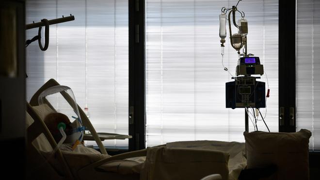 Paciente atendido en un hospital.