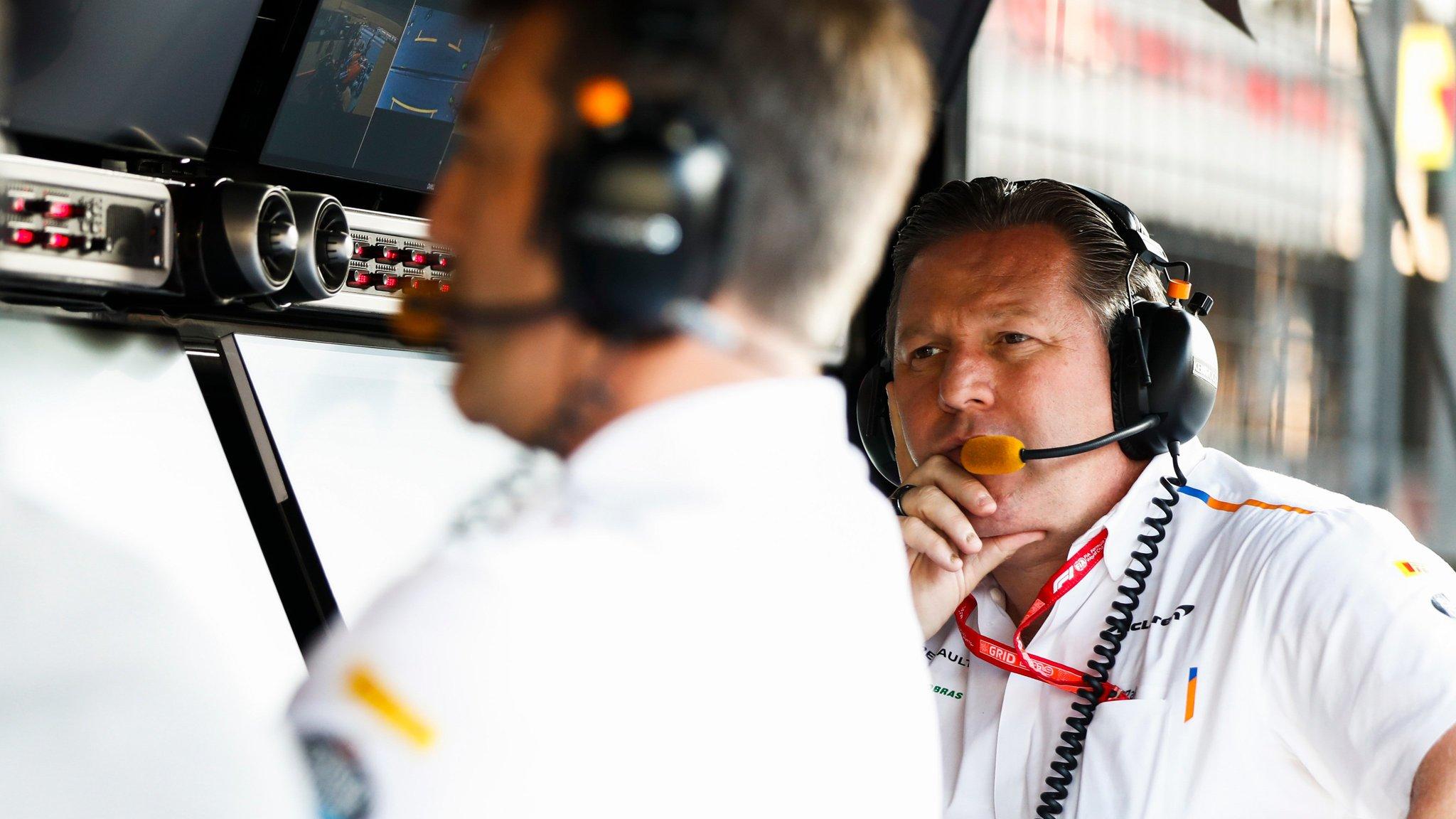Cuatro equipos de F1 podrían desaparecer — Zak Brown