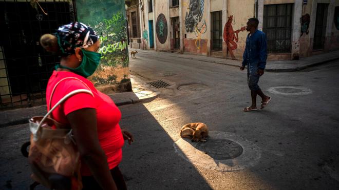 Perspective of Cuba in times of coronavirus.
