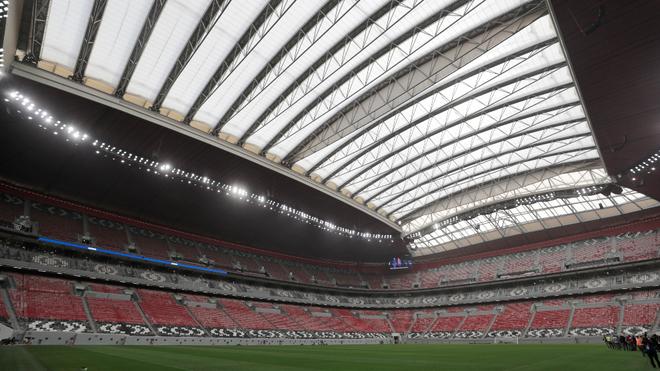 Un estadio de Qatar.