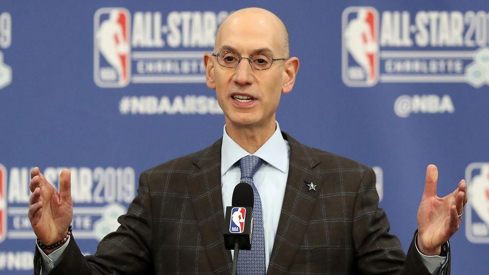 Adam Silver no tomará ninguna decisión sobre la NBA hasta mayo