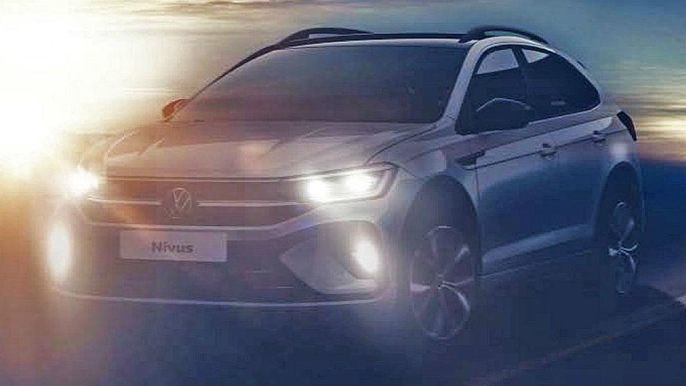 Imagen del Volkswagen Nivus que se fabricará en Brasil y en la planta...