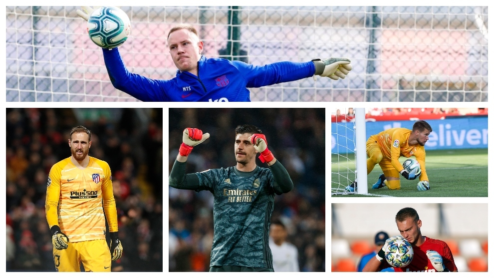 The goalkeeper's position at LaLiga's top clubs is no longer for Spaniards