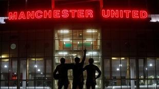 Estadio Old Trafford.