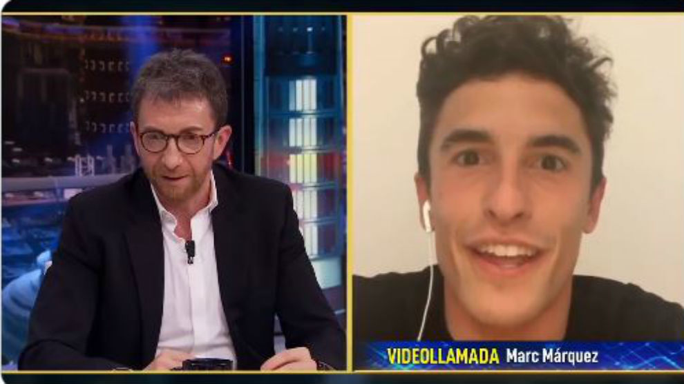 Marc Márquez, entrevistado por Pablo Motos.
