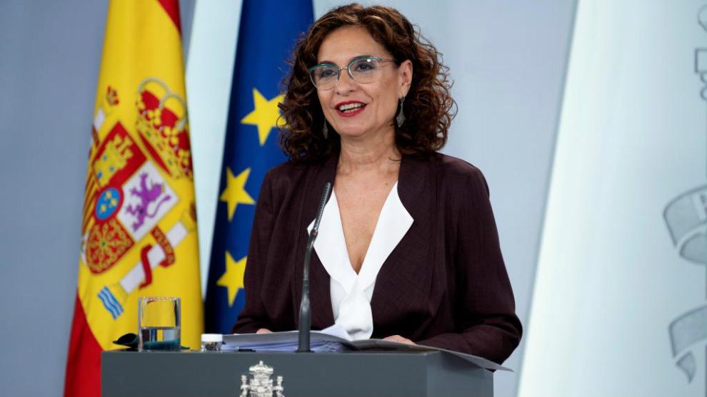 """María Jesús Montero: el 26 de abril volverá la """"ocupación de..."""
