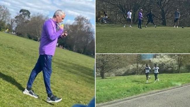El Tottenham da un toque a Mourinho y los suyos por saltarse el confinamiento