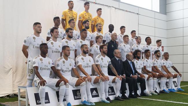 Foto oficial del Real Madrid de esta temporada