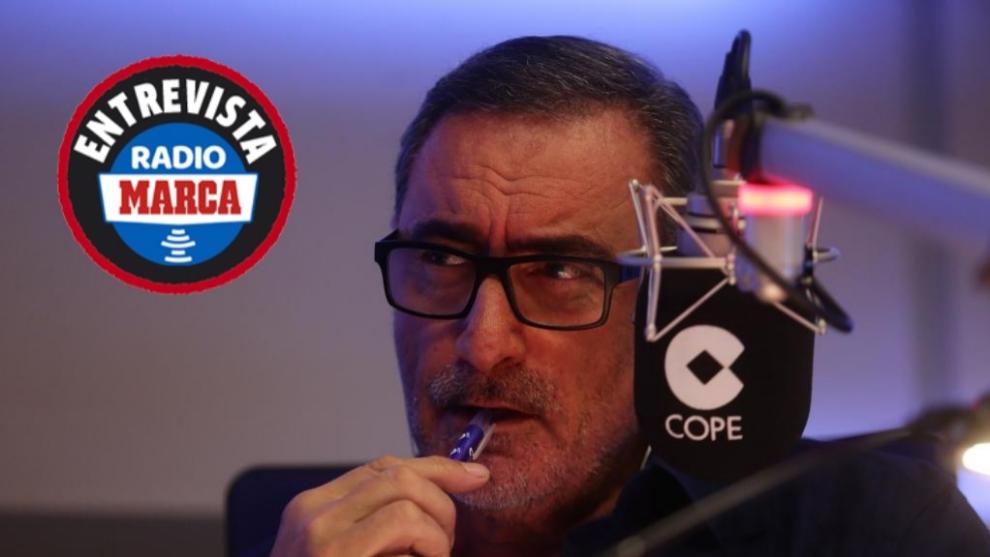 Carlos Herrera en la Cadena COPE.