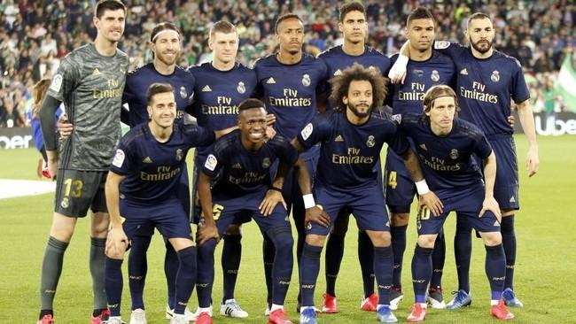 El once del Real Madrid que jugó ante el Betis en su último partido...