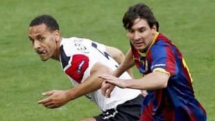 """El error de cálculo de Ferdinand: """"Dije no al Barça en 2008, era un..."""