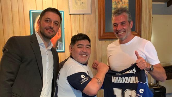 Olé: Así pasa la cuarentena Maradona | Marca.com