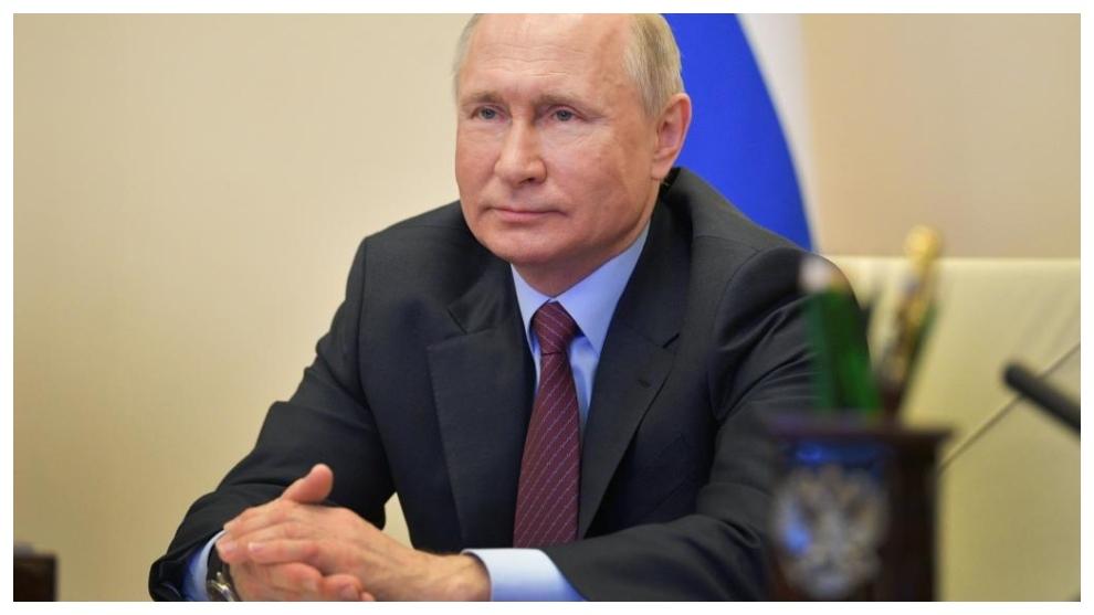 Vladimir Putin, el presidente de Rusia