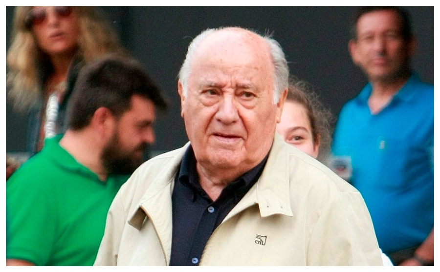 Amancio Ortega, el quinto hombre más rico del planeta.