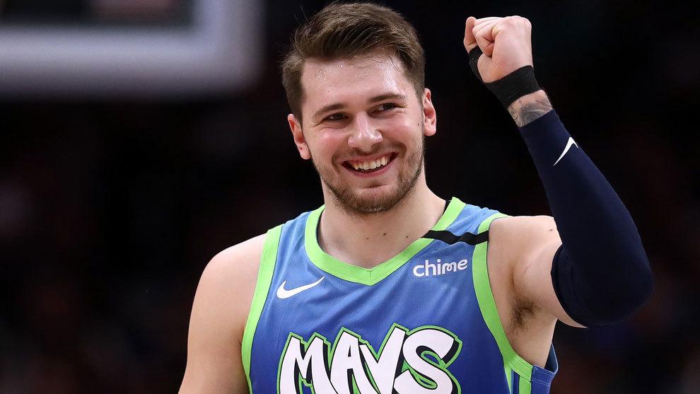 Luka Doncic, estrella de los Mavericks