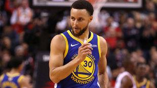 Stephen Curry las últimas Finales de la NBA