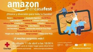 Amazon en Casa Fest en directo