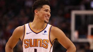 Devin Booker, jugador de los Phoenix Suns