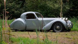 La carrocería coupé fue el encargo exclusivo de un comprador llamado...