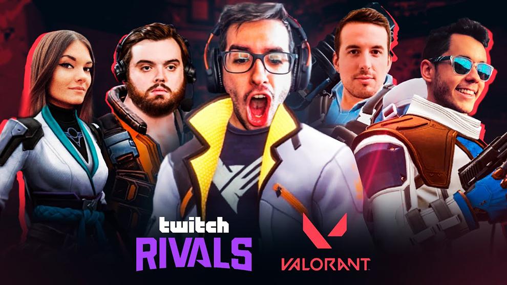 Competición Twitch Rivals de Valorant