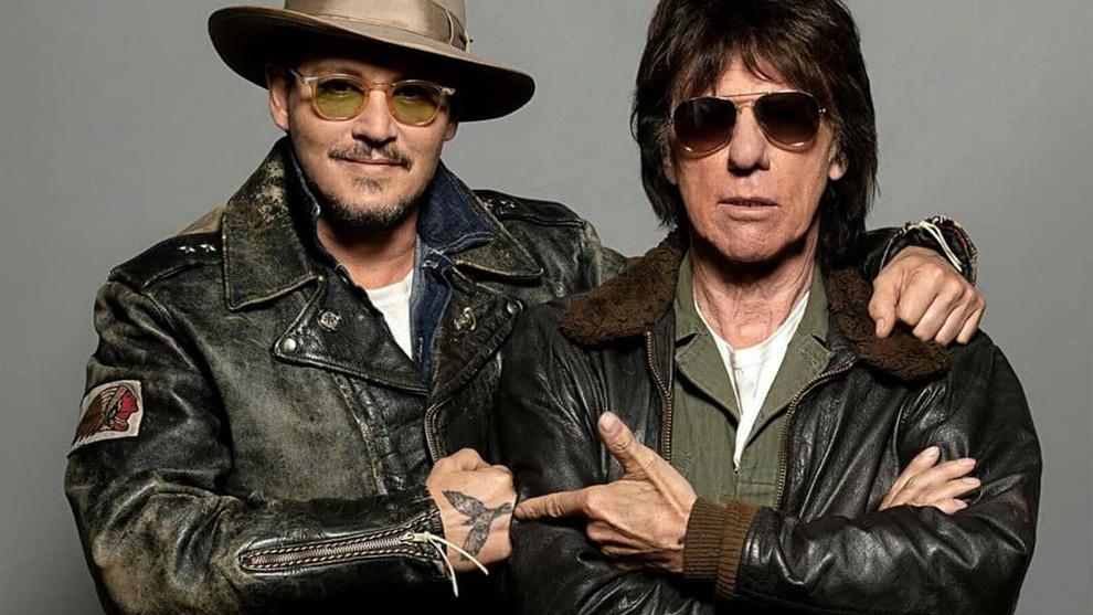 Johnny Depp y Jeff Beck, tanto monta.
