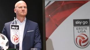 Christian Ebenbauer, CEO de la Bundesliga austríaca