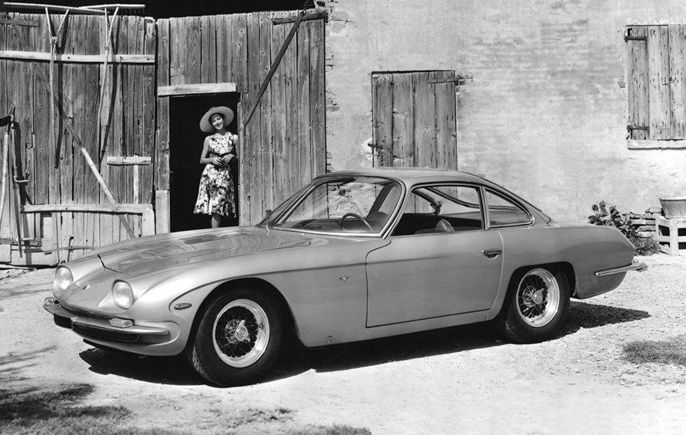 Se hicieron 120 unidades del 350 GT entre 1964 y 1966.