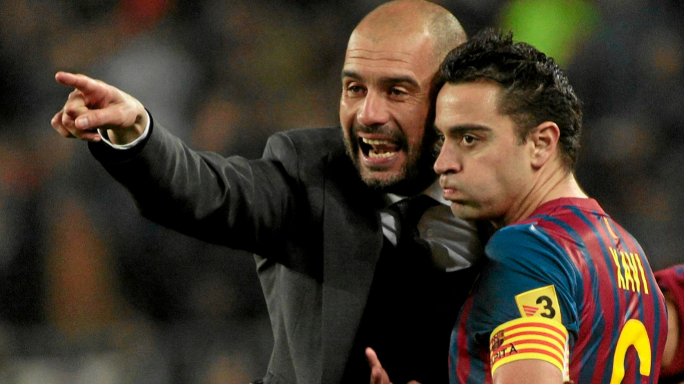 Premier League: Xavi: Guardiola is the best coach in the world | MARCA in  English