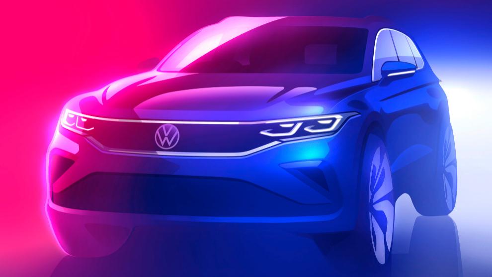 Avance sobre cómo será la renovación del Volkswagen Tiguan