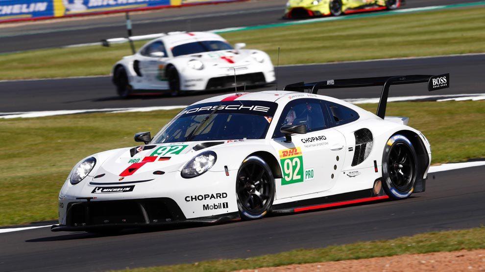 El Porsche 911 RSR es nuevo esta temporada.