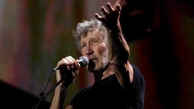 Pink Floyd en concierto.