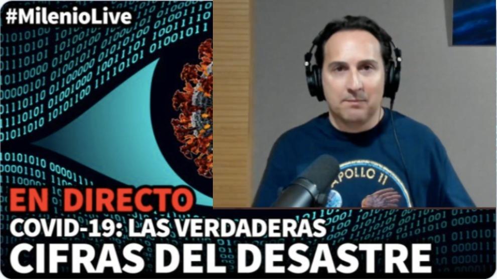 Iker Jimenez coronavirus Milenio Live