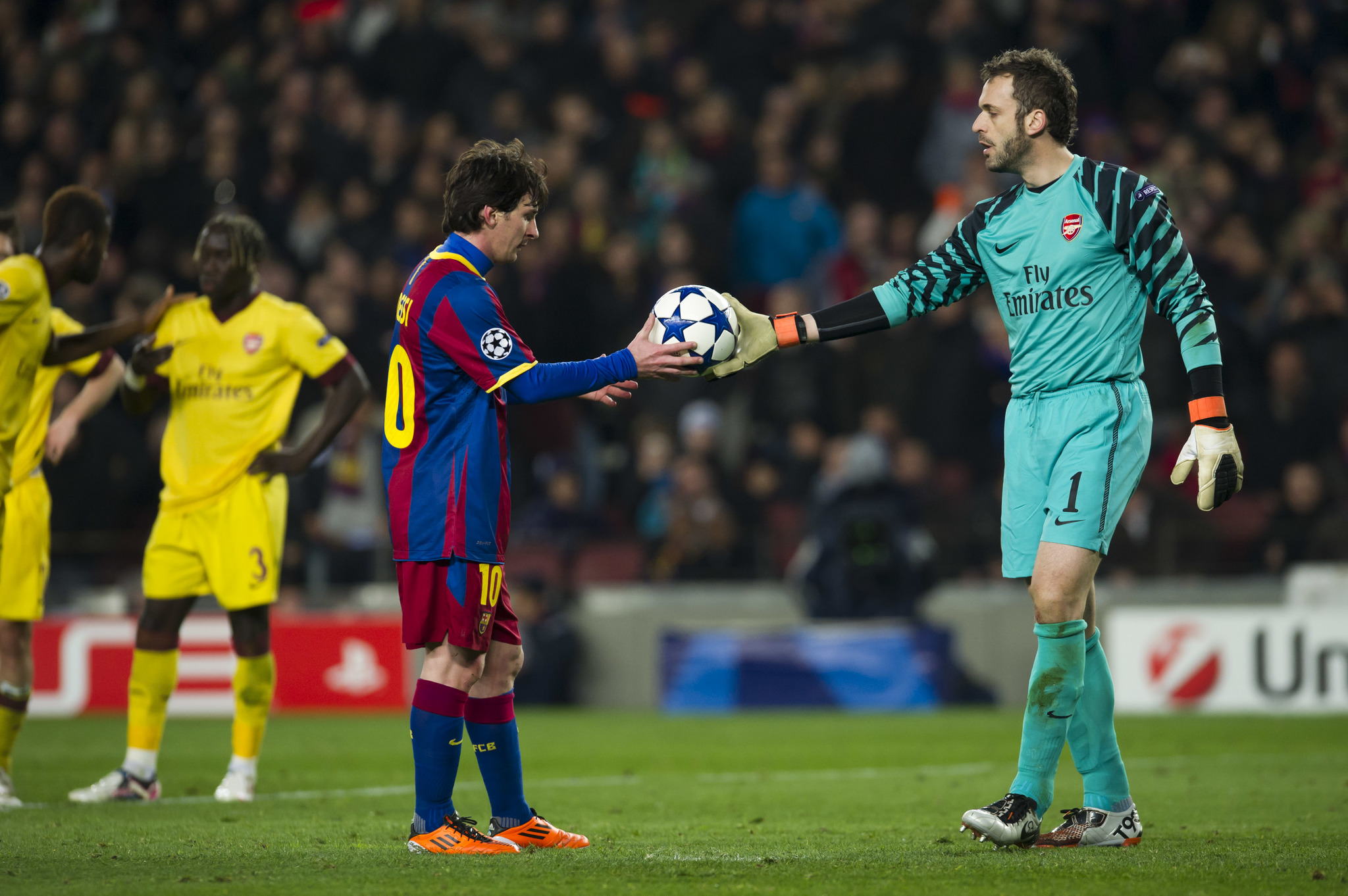 UEFA CHAMPIONS LEAGUE. LIGA DE CAMPEONES. OCTAVOS DE FINAL. PARTIDO DE VUELTA. PENALTI A FAVOR DEL FC BARCELONA. MESSI