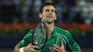 Novak Djokovic propone que se done a tenistas afectados.