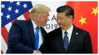 Trump y Xi Jinping, tras alcanzar un acuerdo comercial.