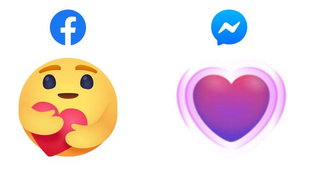 Nuevas reacciones de Facebook por coronavirus.