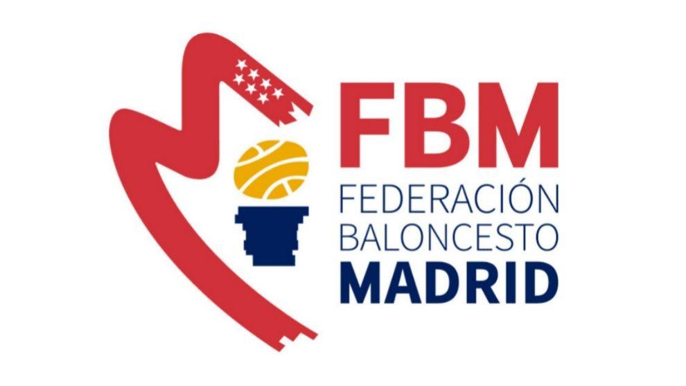 Logo de la Federación de Baloncesto de Madrid.