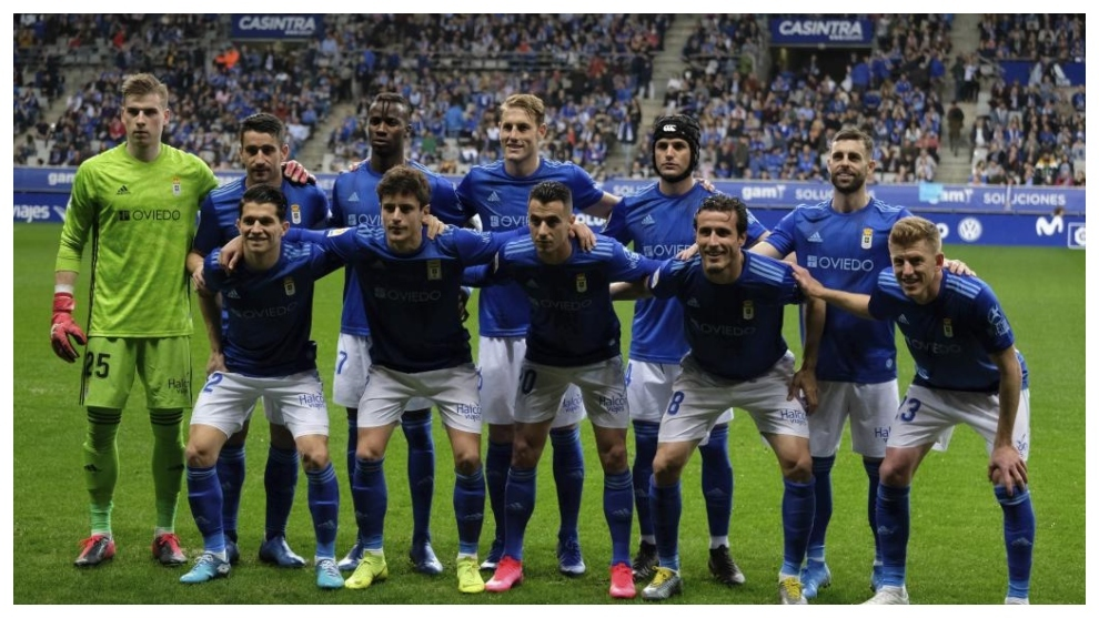 El once del Oviedo que jugó en el Carlos Tartiere ante el Albacete