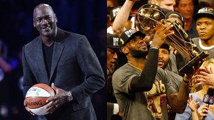Michael Jordan y LeBron James
