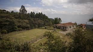 Campo de fútbol donde jugaba Pablo Escobar en la cárcel de la...