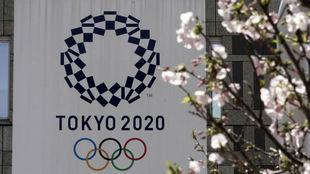 El logo de los Juegos Olímpicos.
